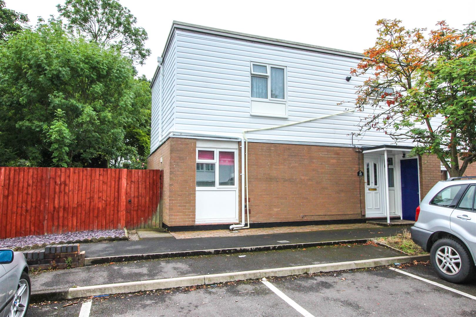3 Bedrooms End Of Terrace House for sale in Aldington Close, Redditch